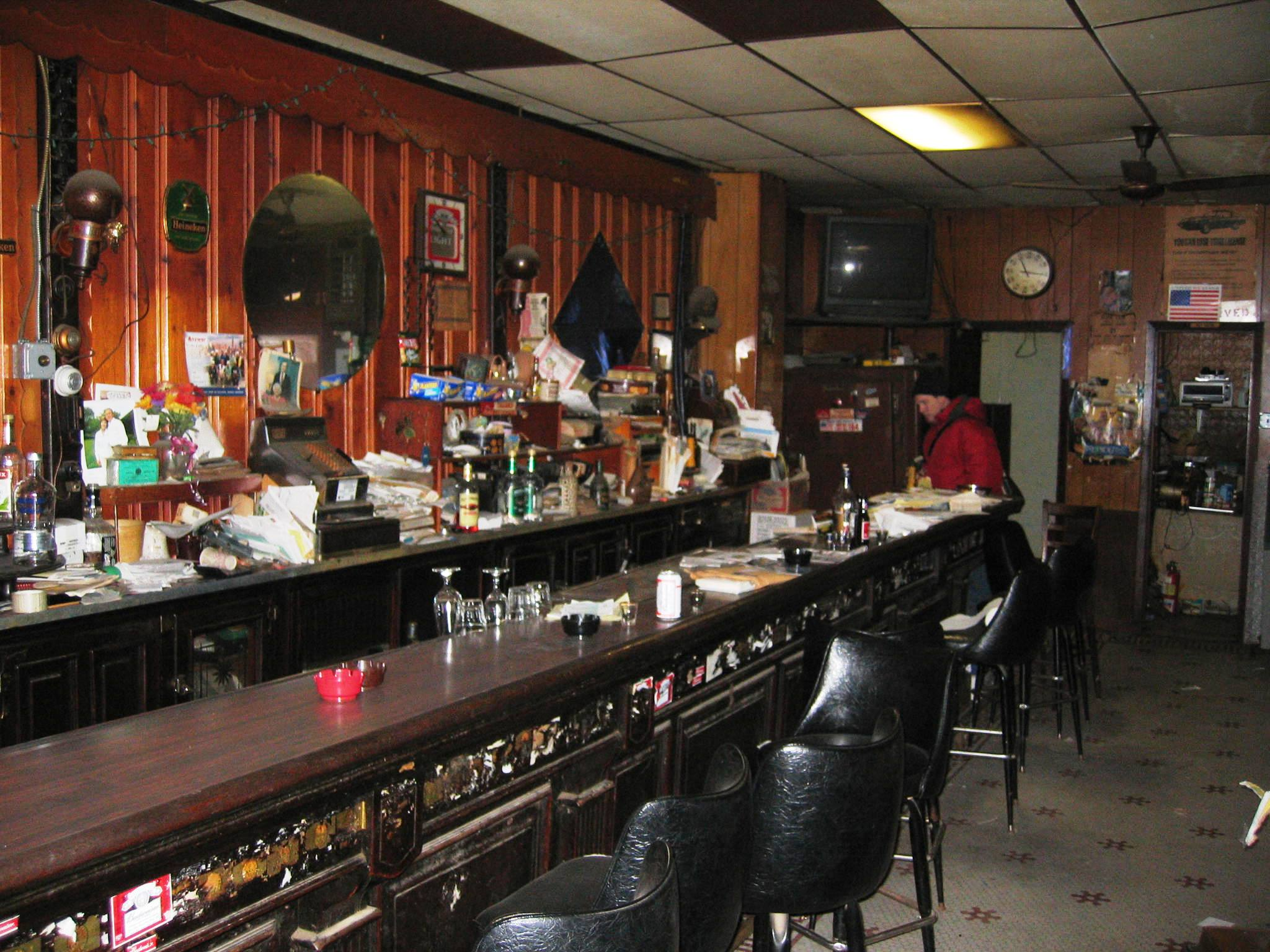 120 Year Old Bar