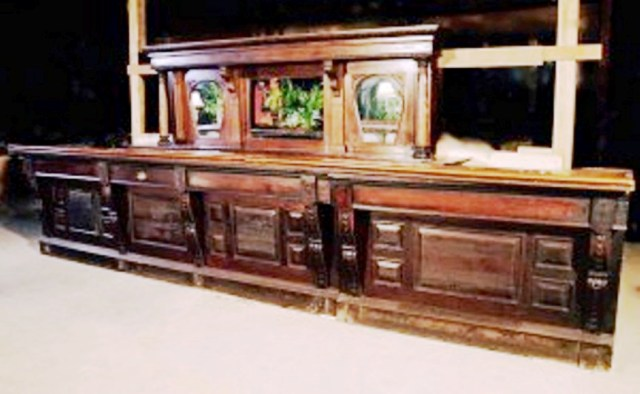Carved Bar