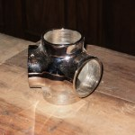 Stainless Steel Ball Fittings 2″ a beautiful bar antique salvaged restored wood bars
