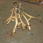 Brass Footrests