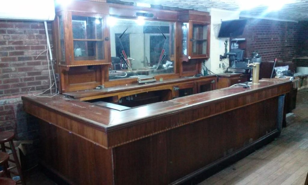 LES Bar antique salvaged bars