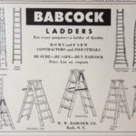 babcock wooden ladders