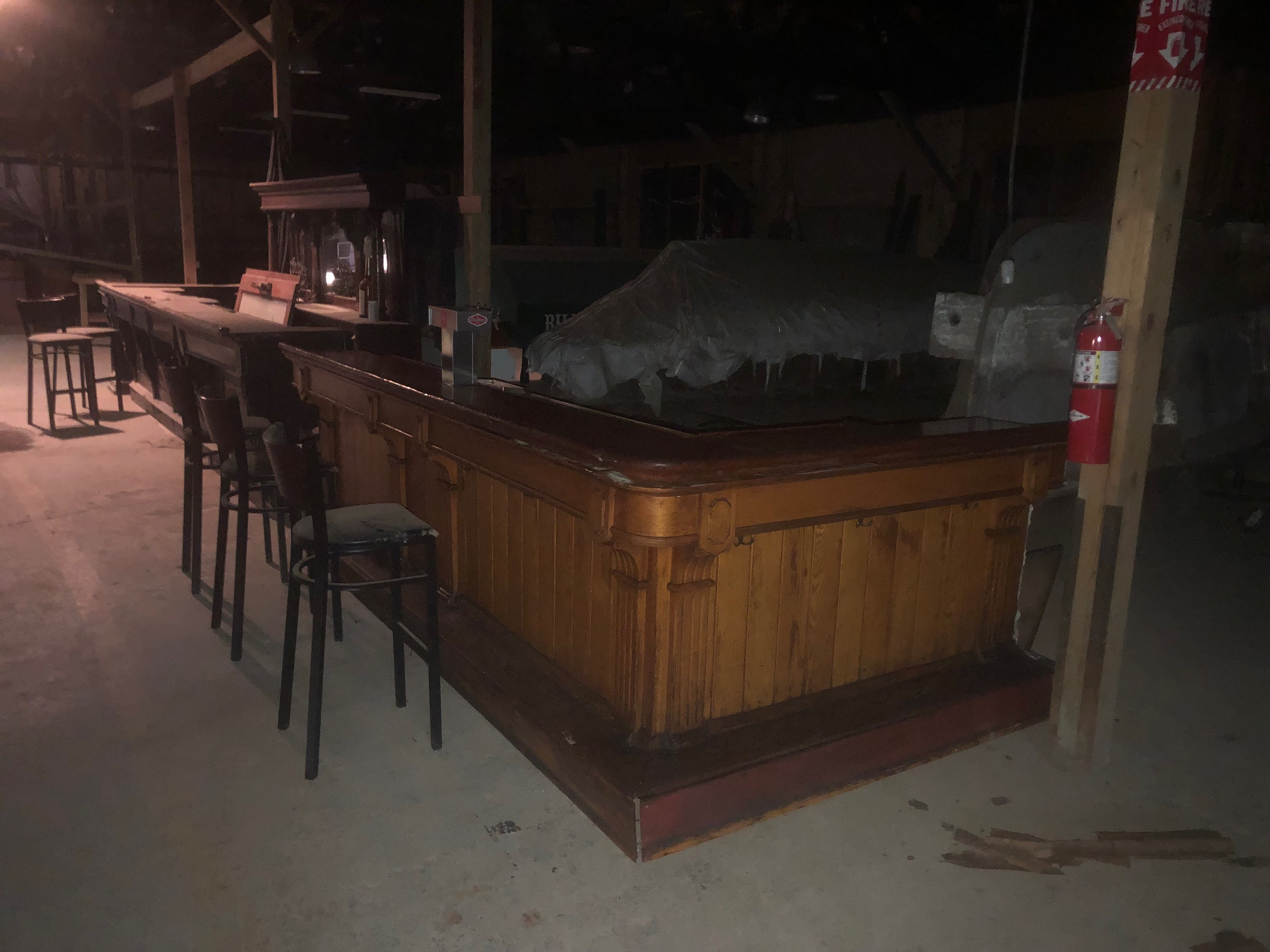 a beautiful bar antique salvaged restored wood bars